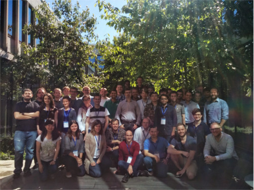 Lectures on MR, Simulation, Copenhagen, Group photo