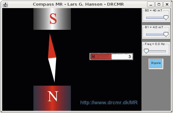 The CompassMR app and web simulator for NMR and MRI education