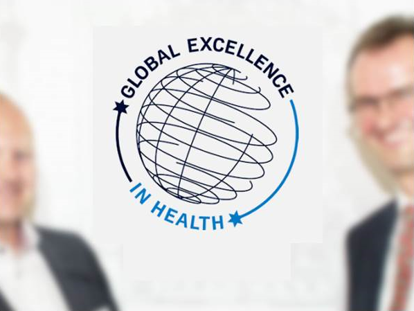 Global Excellence in health forside logo