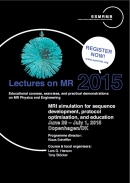 ESMRMB course on MRI Simulation in Copenhagen late June, 2015