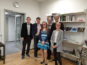 On 4 October 2019, Cristina Pasquinelli successfully defended her PhD